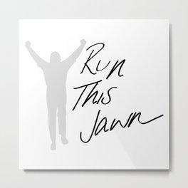 Rocky - Run This Jawn Metal Print