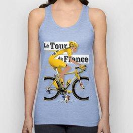Tour De France cycling grand tour Unisex Tank Top