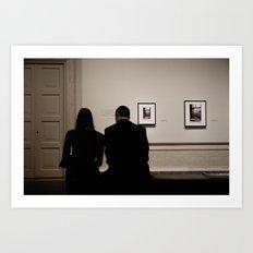 Art For Two Art Print