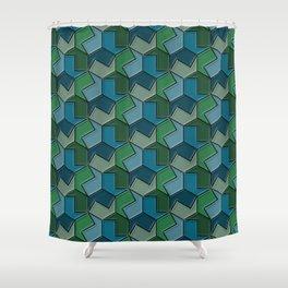 Geometrix 166 Shower Curtain