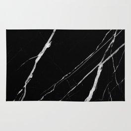 Black Marble No.1 Rug