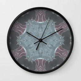 Samurai Mandala Wall Clock