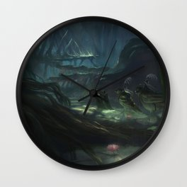 Onwards and In  Wall Clock