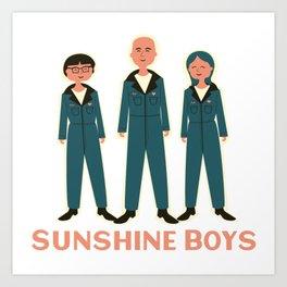 Sunshine Boys 2020 png Art Print