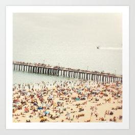 The Summers we leave behind Art Print