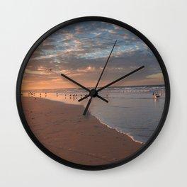California Sunrise Wall Clock