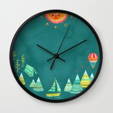 Not All Those Who Wander ii Wall Clock