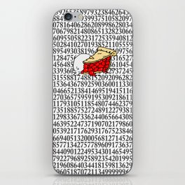 Slice of (Feynman) π iPhone Skin