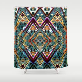 Diamond in the Rough Shower Curtain