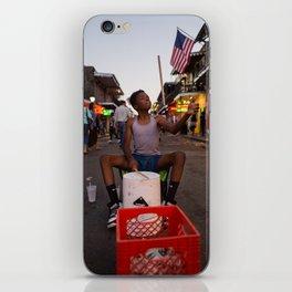 Bucket Boy on Bourbon Street, 2017 iPhone Skin