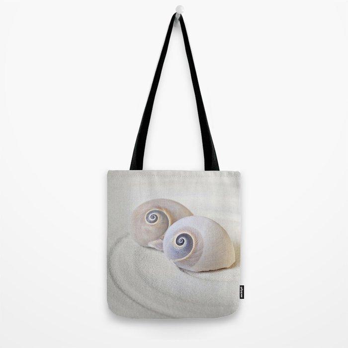 Zen Shell Harmony Still Life Tote Bag