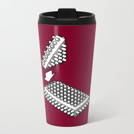 Bricking It Metal Travel Mug