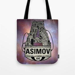Forever Asimov  Tote Bag