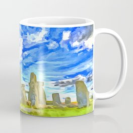 Stonehenge Pop Art Style Coffee Mug
