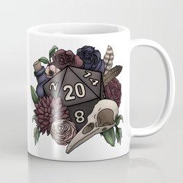 Necromancer D20 Tabletop RPG Gaming Dice Coffee Mug