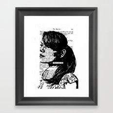 I Have Seen Love Framed Art Print