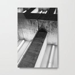 Structure de béton Metal Print