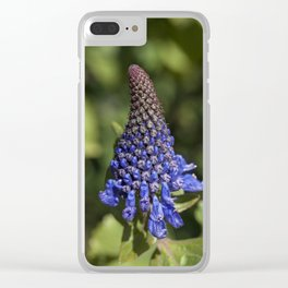 Witches hats blue Clear iPhone Case