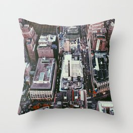 NYC, Sky View #1 Throw Pillow