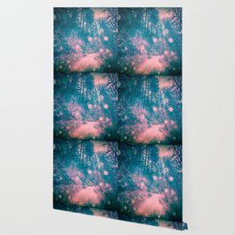 Pink Magical Path Wallpaper