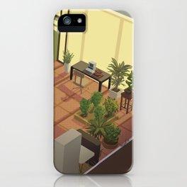 amelie's garden iPhone Case