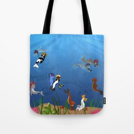 Free Eternal Summer Pony All together Tote Bag