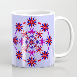 Shuriken Lotus Flower v3 Coffee Mug