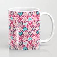 valentine Mugs featuring Valentine by Art Tree Designs