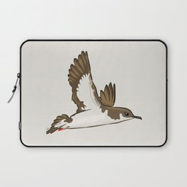 Simple Minimalist Manx Shearwater Flying Laptop Sleeve