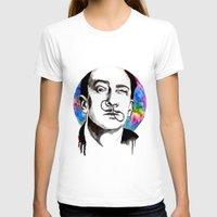 dali T-shirts featuring Dali by Clementine Petrova