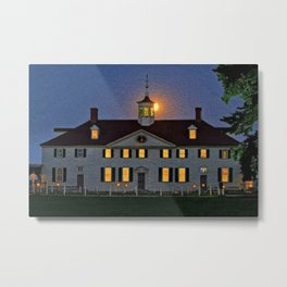 In the Days of Old Colonial New England Metal Print