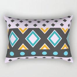 Geometric fun Rectangular Pillow