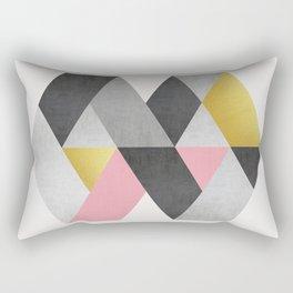 Minimalist fashion and golden I Rectangular Pillow