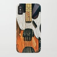 bass iPhone & iPod Cases featuring Elvis' Bass by Amber Dawn Hilton