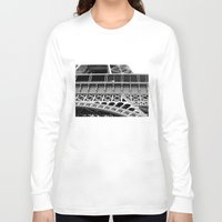 eiffel tower Long Sleeve T-shirts featuring Eiffel Tower by James Tamim