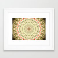carnival Framed Art Prints featuring Carnival by Jane Lacey Smith