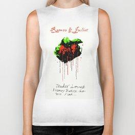 Romeo And Juliet - v.1 Love's Burden Biker Tank