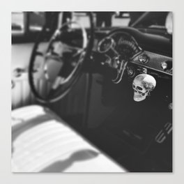 For the love of skulls Canvas Print