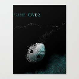 Game Over Canvas Print