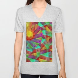 Today's colorplay with variation ... Unisex V-Neck