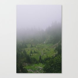 Valley of Heaven Canvas Print