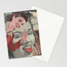 Tongue Brush Stationery Cards