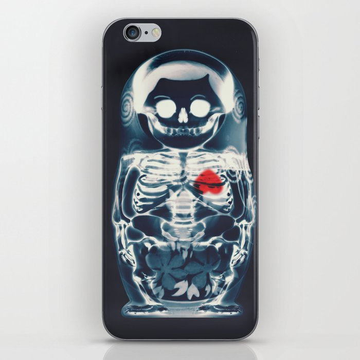 Nesting Doll X-Ray iPhone Skin
