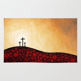 Forgiven - Christian Art By Sharon Cummings Rug