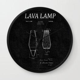 Lava Lamp Patent 2 Wall Clock