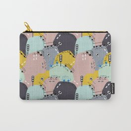 Four wheels purple Carry-All Pouch