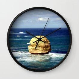 Lone limestone Rock Wall Clock