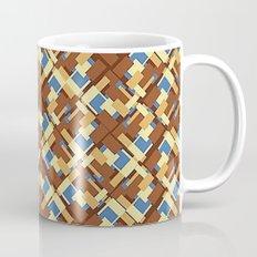 Blue Earth Patch Pattern Mug