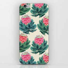 Protea flower garden iPhone Skin