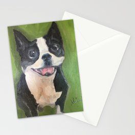 Boston Terrier - Oswald Stationery Cards